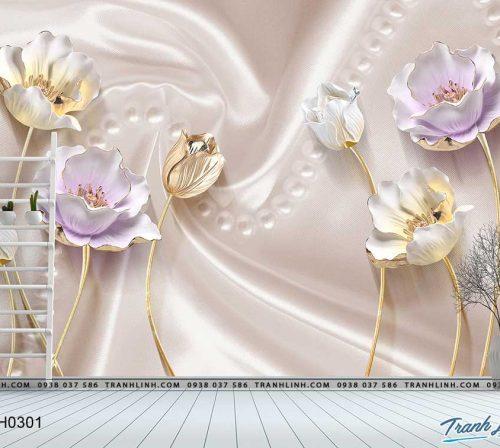 tranh dan tuong hoa dth0301