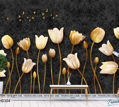 tranh dan tuong hoa dth0304