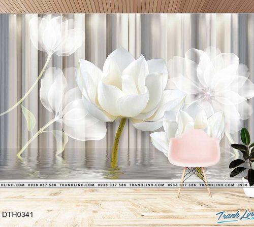 tranh dan tuong hoa dth0341