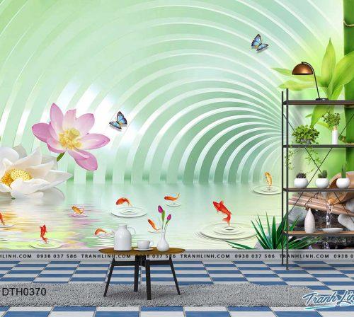 tranh dan tuong hoa dth0370