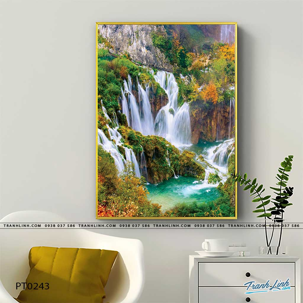 tranh in canvas phong canh phong thuy pt0243