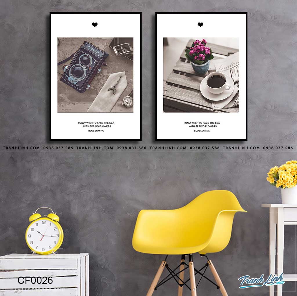 trang canvas treo tuong quan cafe 4 1024x915 - Một Vài Gợi Treo Tranh Canvas Cho Quán Café