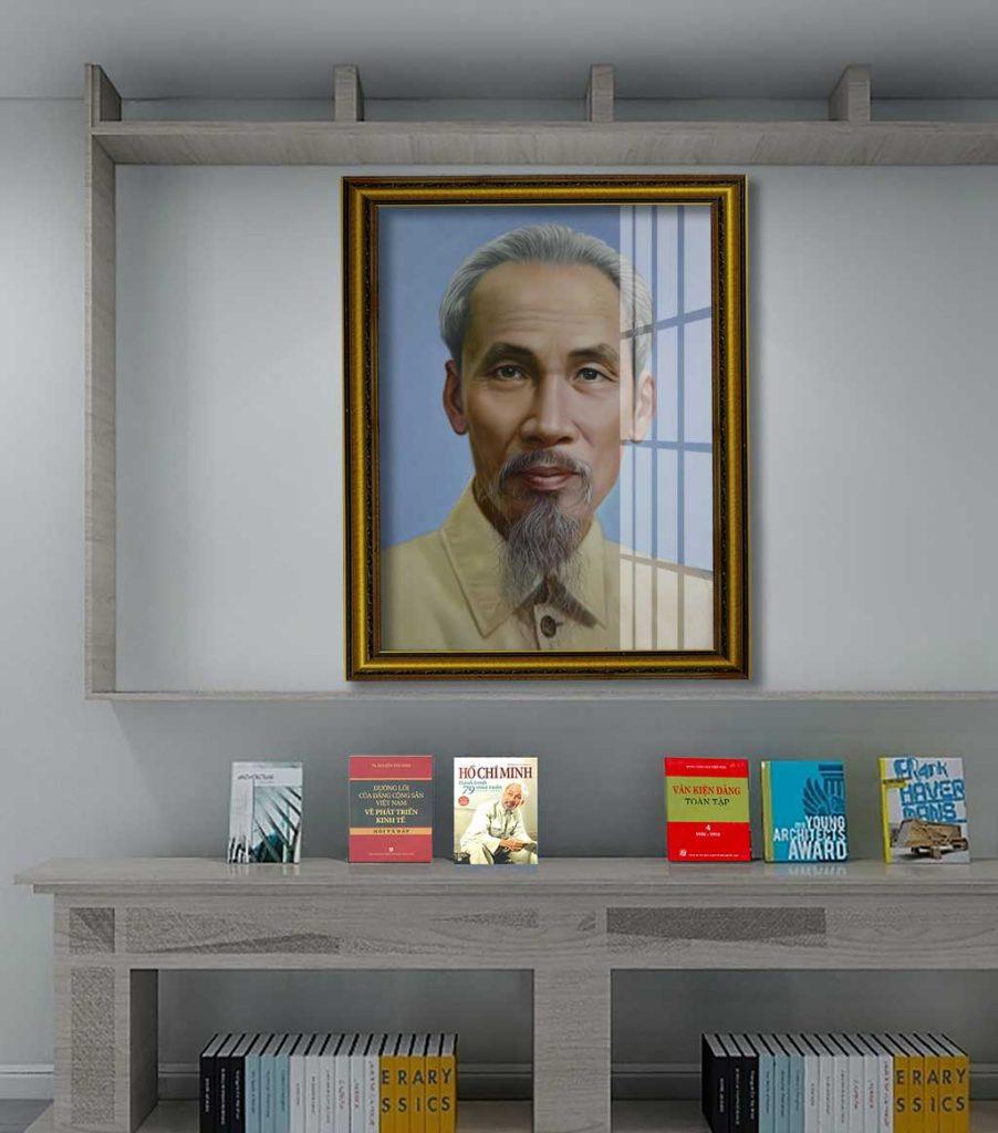 tranh bac ho 3 902x1024 - 9 mẫu tranh Bác Hồ tuyệt đẹp dành cho những ai yêu quý Bác