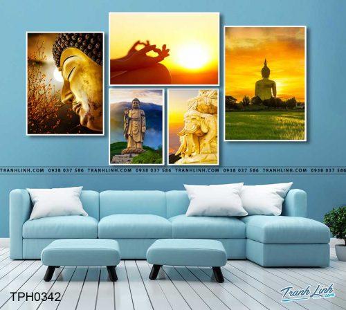 tranh canvas phat 108