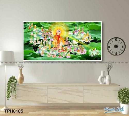 tranh canvas phat tay phuong cuc lac 10