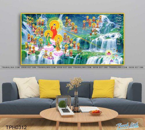 tranh canvas phat tay phuong cuc lac 25