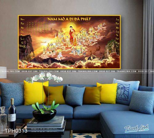 tranh canvas phat tay phuong cuc lac 26