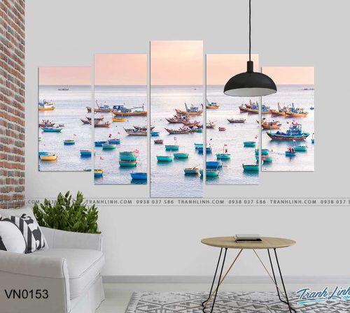 tranh canvas phong canh que huong 2