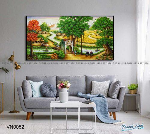 tranh canvas phong canh que huong dong que 28
