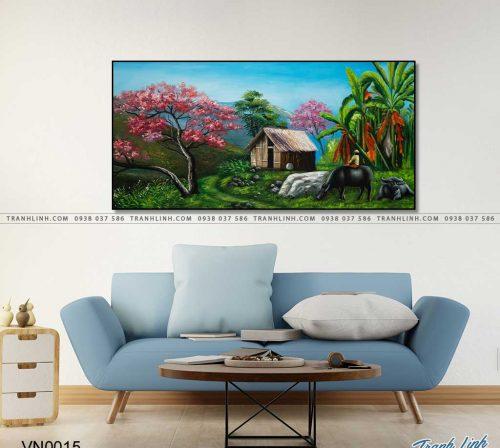 tranh canvas phong canh que huong dong que 3