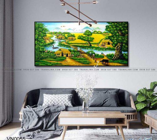 tranh canvas phong canh que huong dong que 31