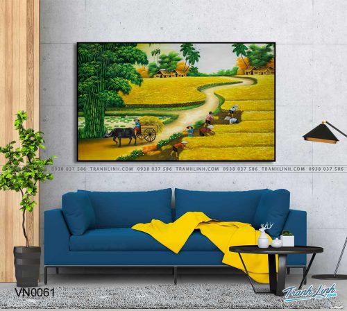 tranh canvas phong canh que huong dong que 34