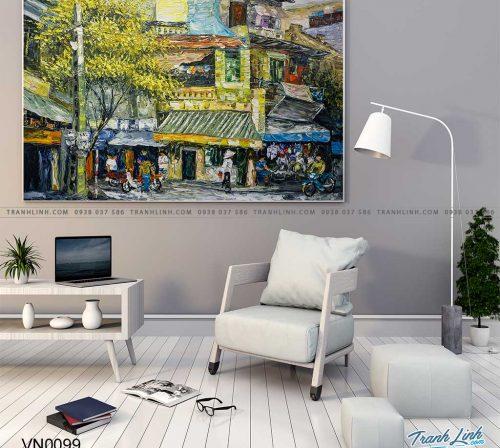 tranh canvas phong canh que huong pho co 15