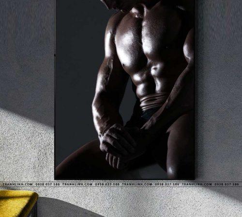 tranh canvas phong gym 2