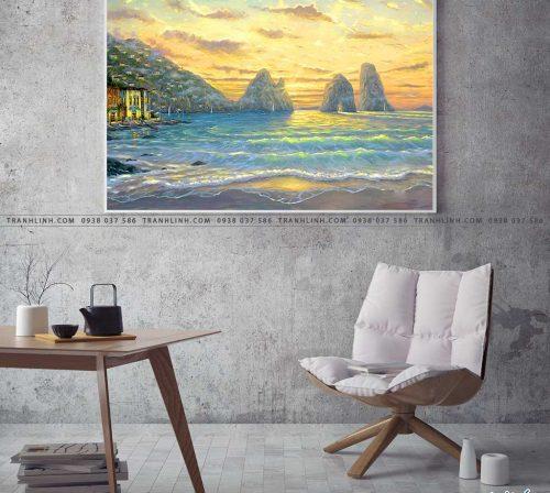 tranh canvas phong canh 2007