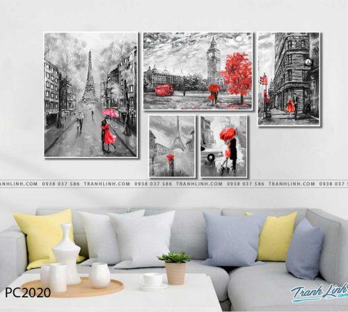 tranh canvas phong canh 2020