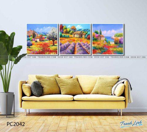tranh canvas phong canh 2042