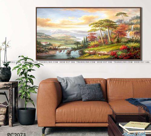 tranh canvas phong canh 2073