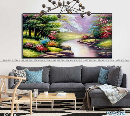 tranh canvas phong canh 2081
