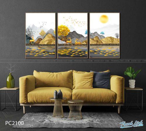 tranh canvas phong canh 2100