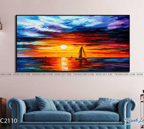tranh canvas phong canh 2110