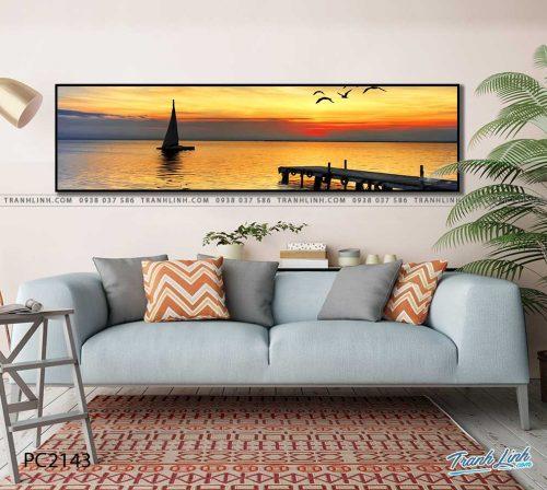 tranh canvas phong canh 2143
