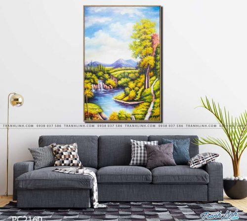 tranh canvas phong canh 2160