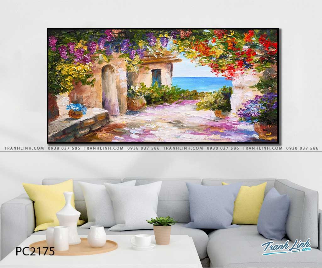 tranh canvas phong canh 2175