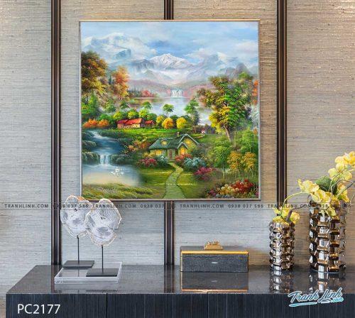 tranh canvas phong canh 2177