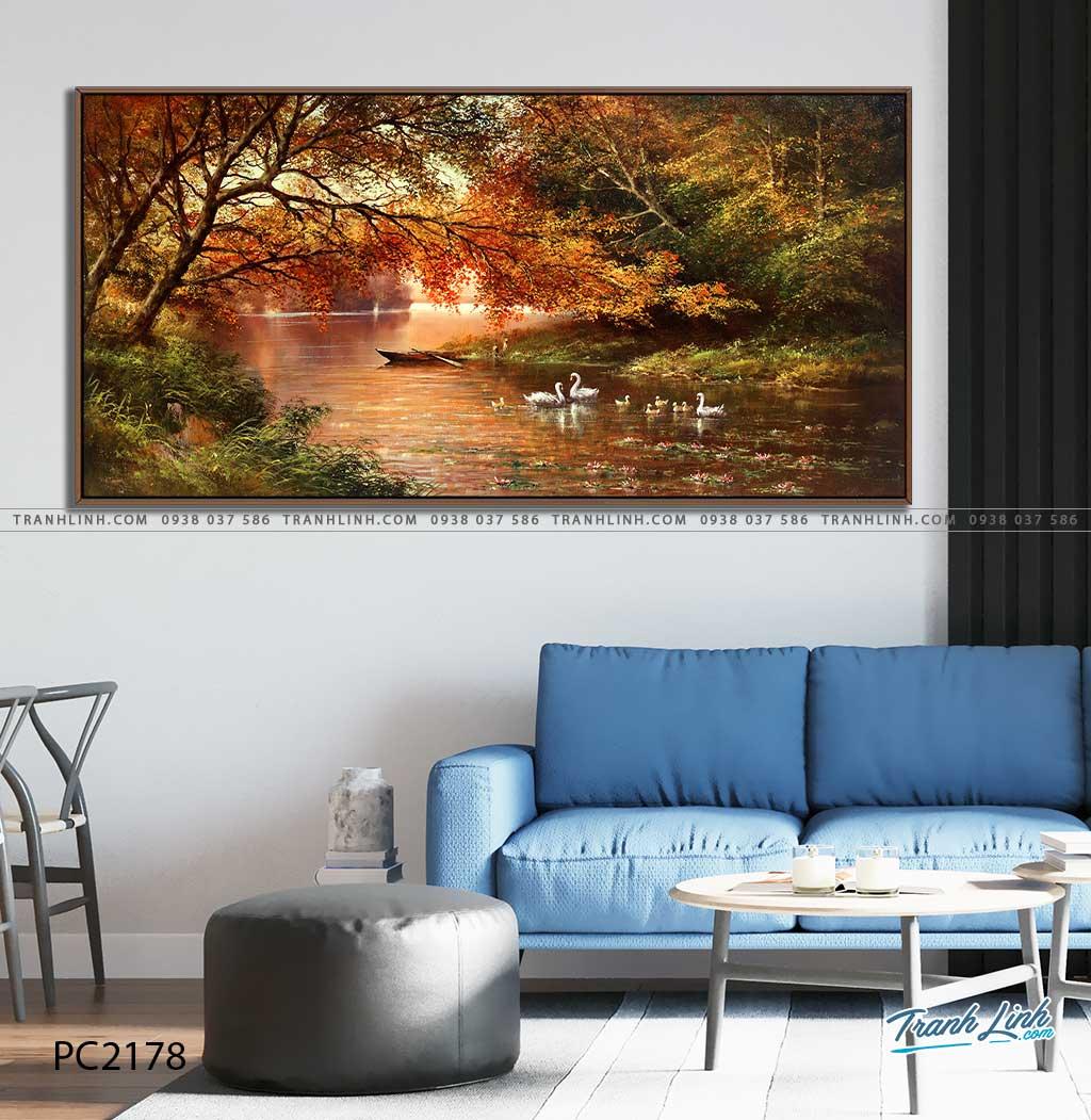 tranh canvas phong canh 2178