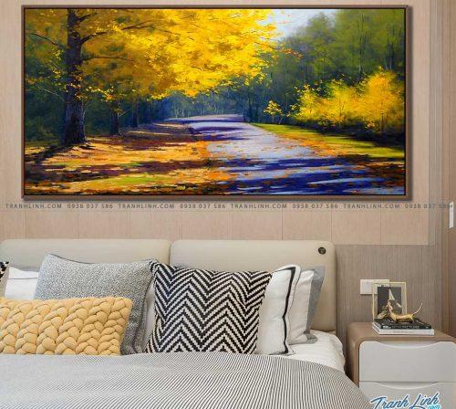 tranh canvas phong canh 2187