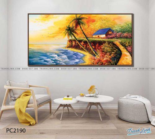 tranh canvas phong canh 2190