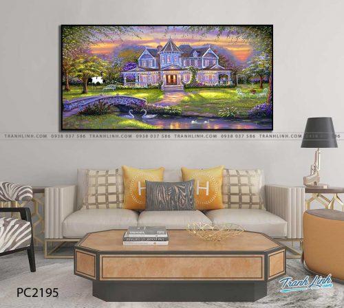 tranh canvas phong canh 2195