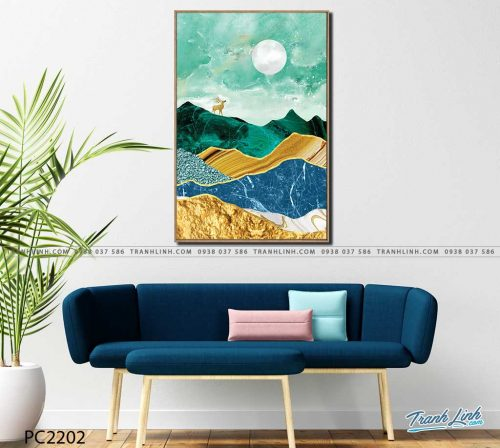 tranh canvas phong canh 2202