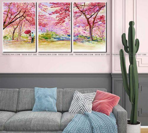 tranh canvas phong canh 2203