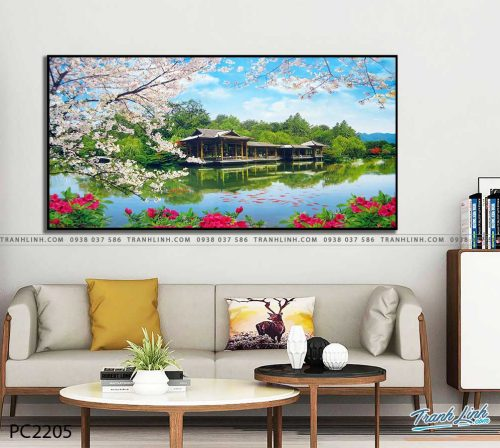 tranh canvas phong canh 2205