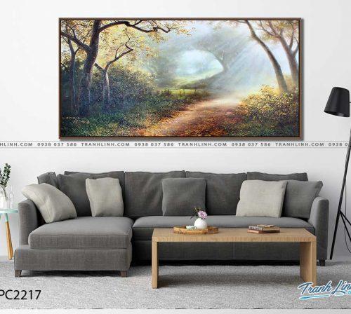 tranh canvas phong canh 2217