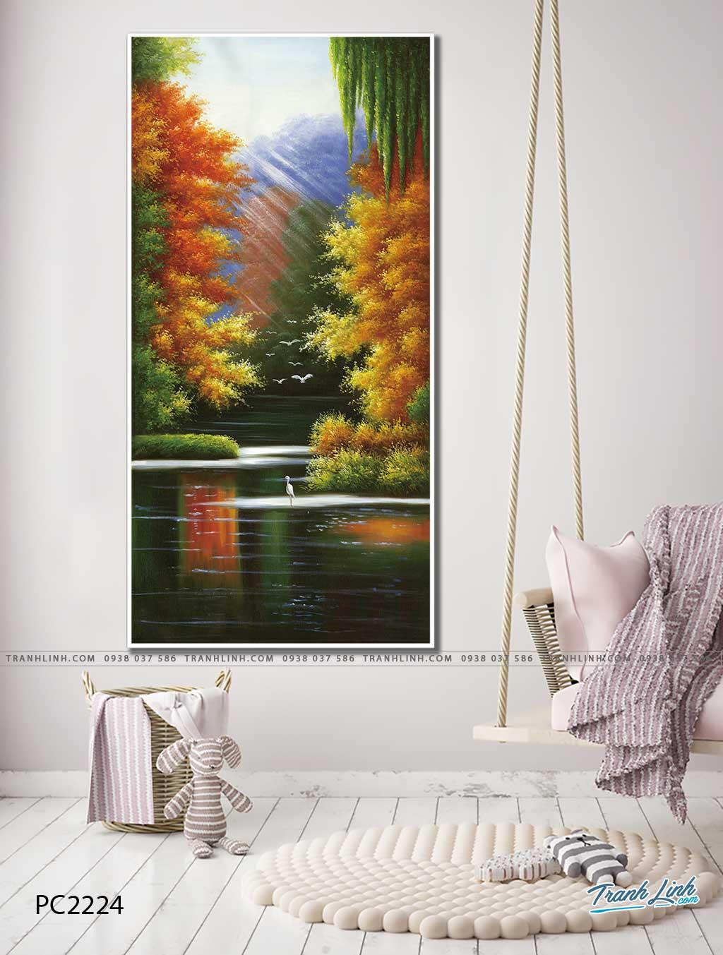 tranh canvas phong canh 2224