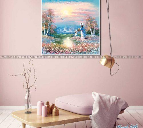 tranh canvas phong canh 2231