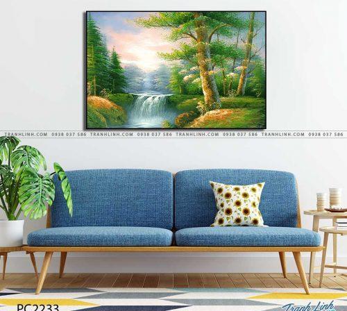 tranh canvas phong canh 2233