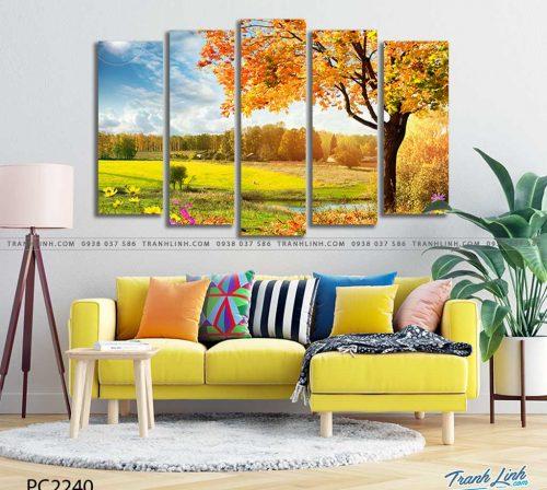 tranh canvas phong canh 2240
