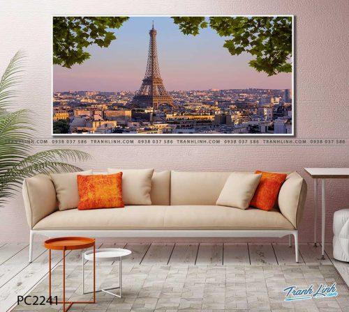 tranh canvas phong canh 2241