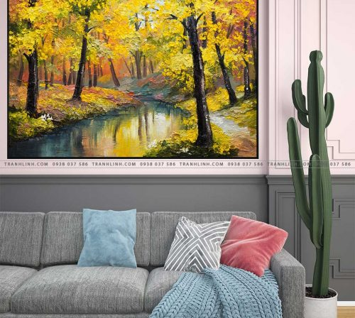 tranh canvas phong canh 2244