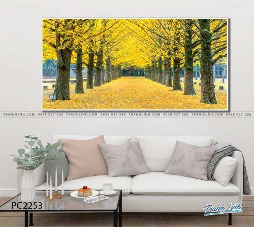 tranh canvas phong canh 2253