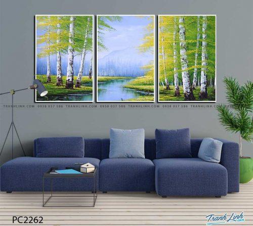 tranh canvas phong canh 2262
