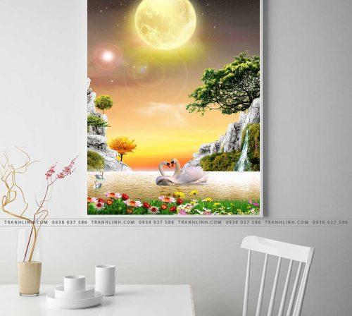 tranh canvas phong canh 2264