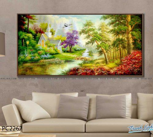 tranh canvas phong canh 2267