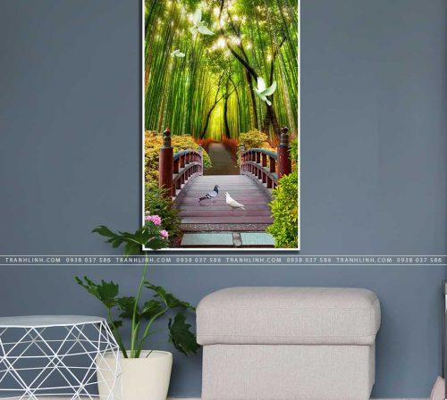 tranh canvas phong canh 2271