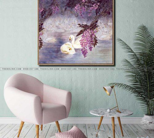 tranh canvas phong canh 2274