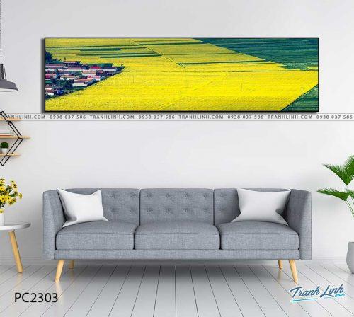tranh canvas phong canh 2303